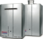 Rinnai, continuous flow water heater, DHW, domestic hot water