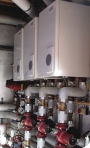 Space heating, Potterton Commercial, boiler