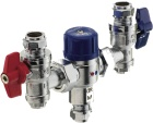 Pegler Yorkshire, TMV, DHW, domestic hot water, thermostatic mixing valve