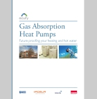 Gas absorption heat pumps. space heating, Baxi, Robur, British Gas and Calor