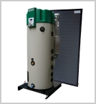 Lochinvar, DHW, water heater, hot water, solar thermal