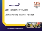 Unitrunk, cable management, CPD