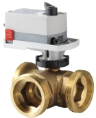 Siemens, ball valve, actuator