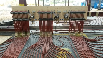 Warmafloor, space heating, underfloor heating