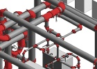 Tyco, Grinnel, Revit, pipework, grooved pipes