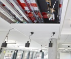 Rehau, air conditioning, chilled ceiling
