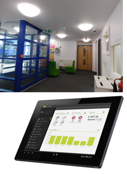Harvard Technology, LED lighting, control, daylight dimming, maintenance, refurbishment