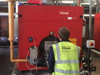 Hoval, boiler, space heating, replace, maintenance, refurbishment