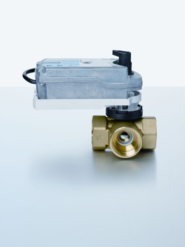 Siemens Building Technologies, ball valves