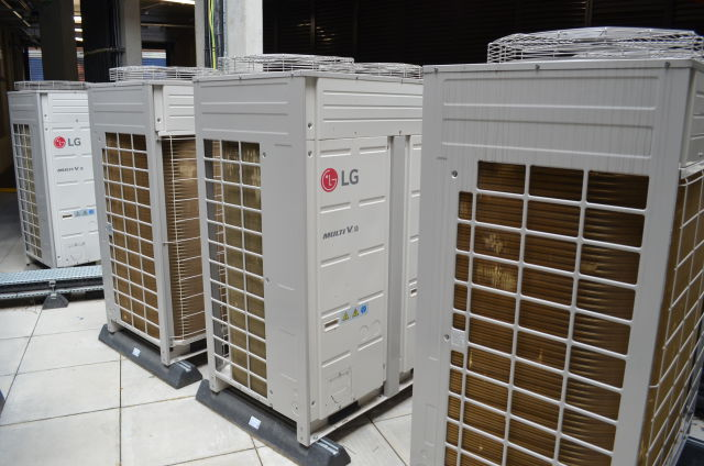 Cooling, LG, Westminster Quarter, LG Multi VS heat recovery