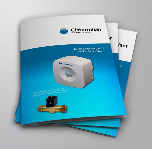 Cistermiser, urinal control, infrared, infra-red, water wastage, PIR, sensor