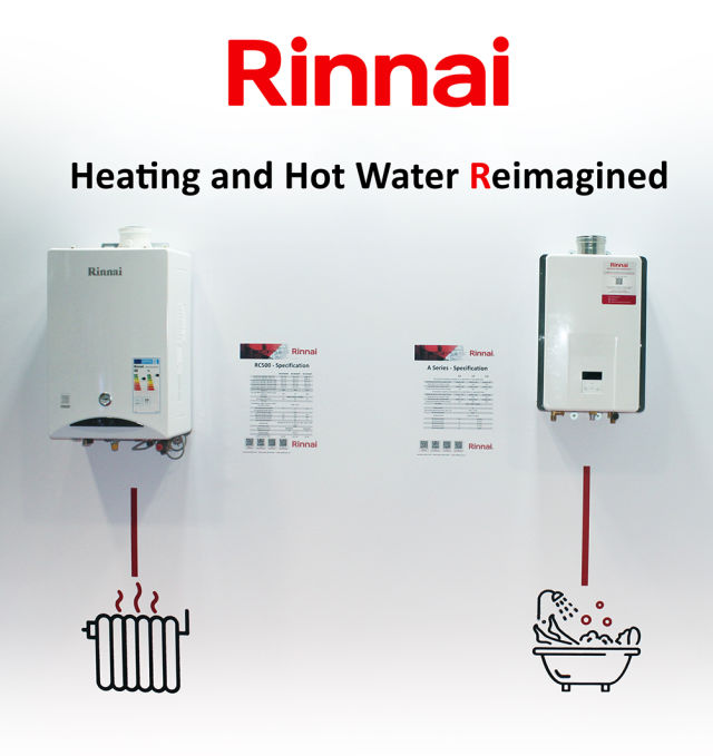 Rinnai, Zen, Zen Plus, hot water, Chris Goggin, installers, boilers, Wifi