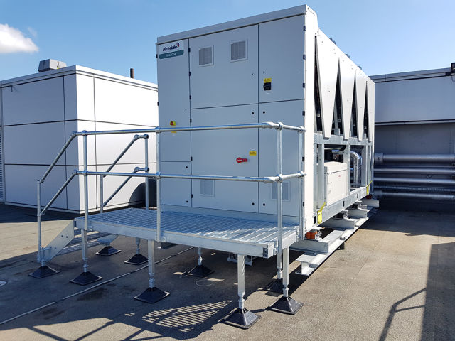 Artic Building Services, Olympus KeyMed, Airedale Chiller