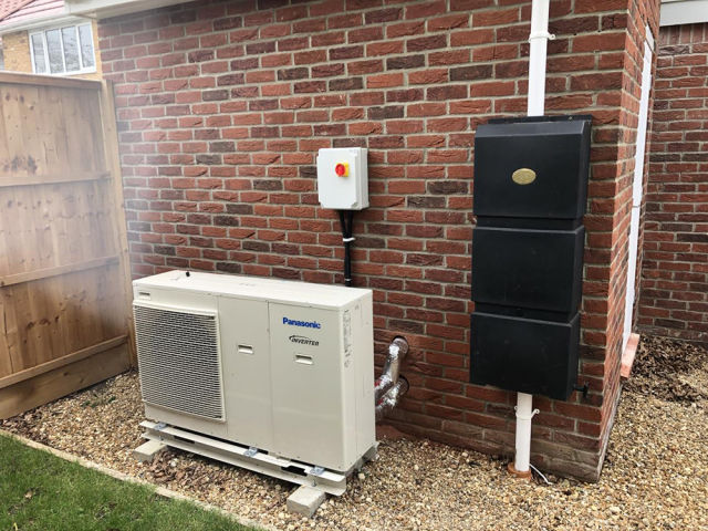 Panasonic, Cambridgeshire, Aquarea, Monobloc, heat pumps, heating