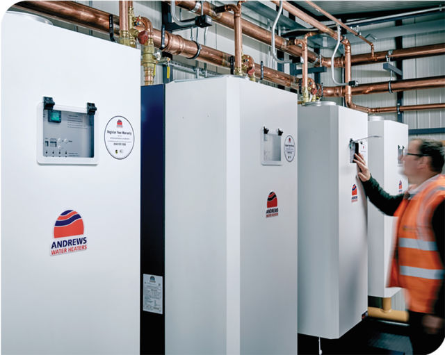 Baxi Heating, Tom Murray, water heater, hot water, offices, co-working, flexible working
