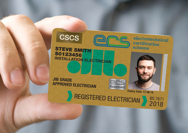ECS, electricians, registered electricians, ECS cards, competence, training, Wiring Regulations, Wiring Regs, 18th Edition