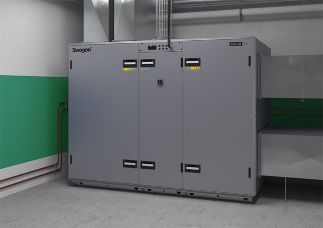 Swegon, Gold, air handling unit, AHU, modular