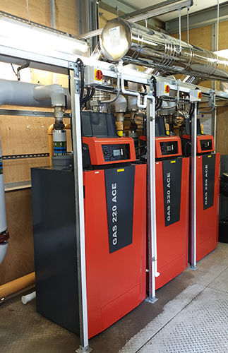 Science and Technology Facilities Council, STFC , Remeha, Gas 220 Ace boilers