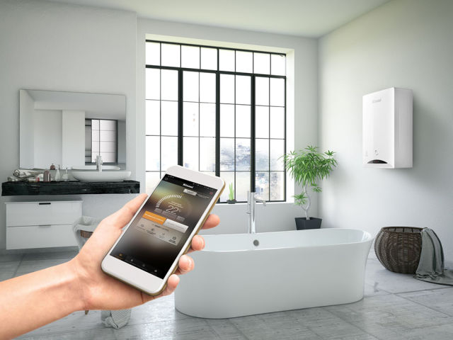 Rinnai, Zen, Zen Plus, hot water, heating, smart controls, homes, app