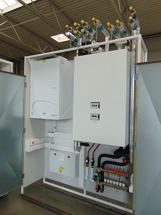 offsite fabricated heating solutions, heat networks, modern methods of construction (MMC), HVAC, HIU, Ian Lock, Baxi Heating
