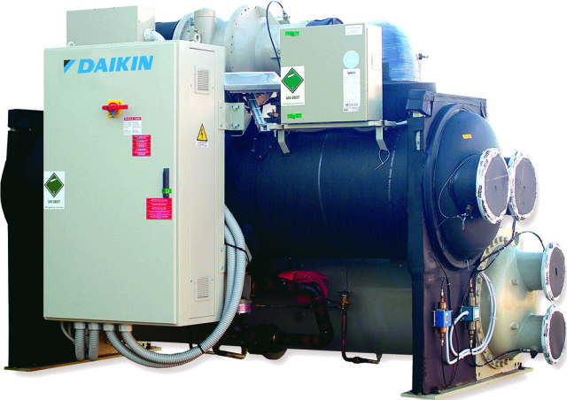 Daikin Applied UK, chiller, water-cooled, GWP, refrigerants