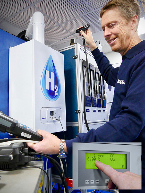 Baxi Heating, hydrogen-ready, boilers, government, Hydrogen Taskforce