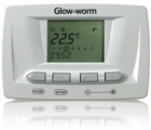 Glow-worm boiler, control, space heating