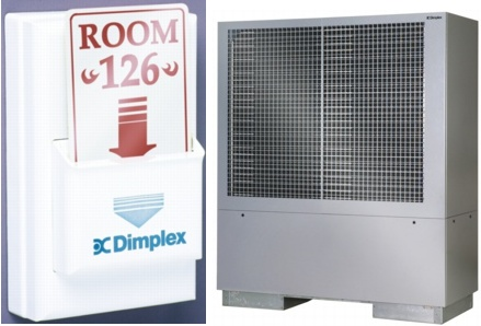 Dimplex, hotel, renewable energy, DHW, Electric Heating