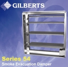 Gilberts, smoke evacuation damper