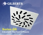 Indoor air quality, IAQ, Gilberts, swirl diffuser