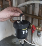 Fernox, water treatment,space heating, filter, filtration