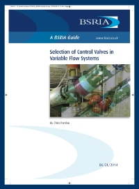 BSRIA, Chris Parsloe, Commissioning, valve authority, PICV, pipes, pipework