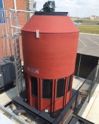 Delta Cooling Towers, heat rejection, air conditioning