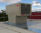 Hoval, ventilation, roof unit, heat recovery. swimming pool