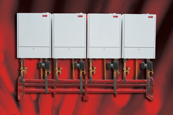 Hoval, cascade, commissioning, boiler, space heating
