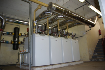 Potterton Commercial, space heating, boiler