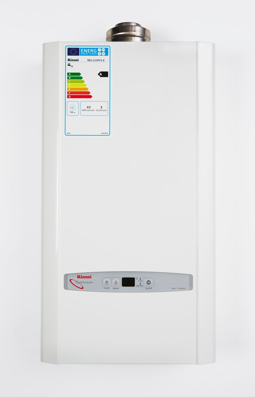 11i  water heater, continuous flow ErP, low NOx, Rinnai
