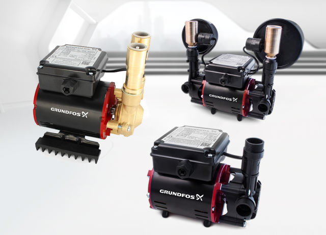 domestic booster pumps, Grundfos, WRAS