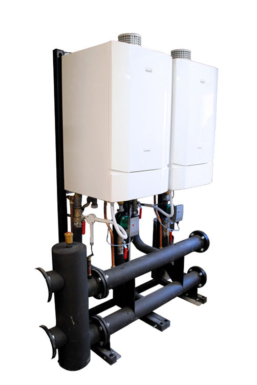cascade insulation, Evomax 2, heat exchanger, Ideal Commercial, magnetic low loss header